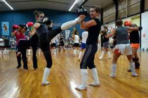 Boxe thalandaise femmes