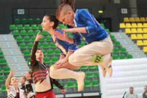 Danse acrobatique
